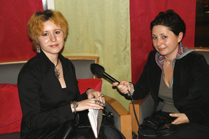 Linda_et_radio_Romania_International